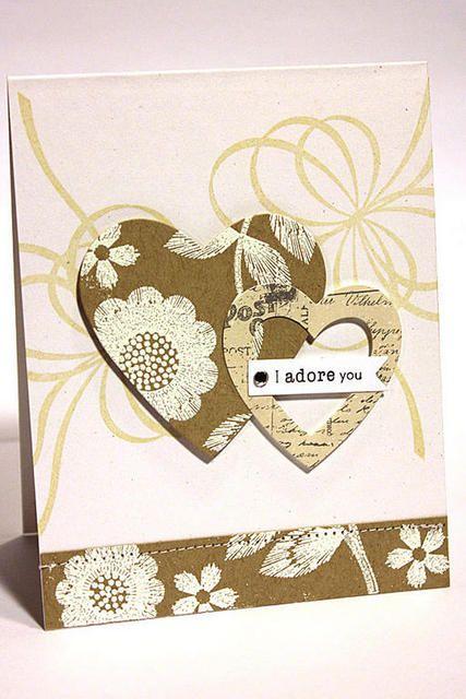 Бумажная свадьба открытки скрапбукинг