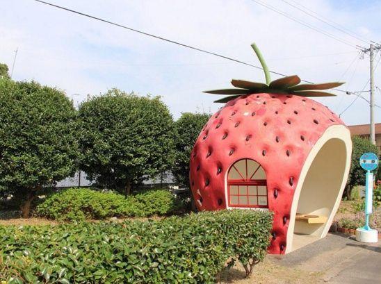 途中下車したくなる!ユニークで可愛い長崎県の「フルーツバス停」とは | RETRIP