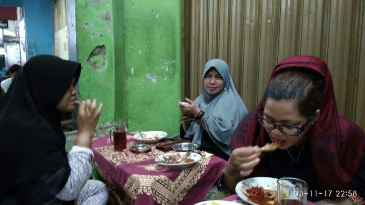 Lesehan Marlioboro Street Yogyakarta - Indonesia.