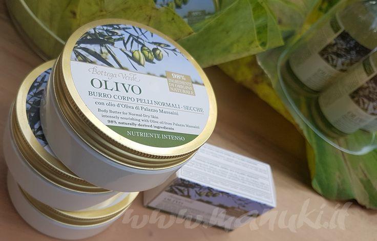 Manuki's ... a place of my own.: [What's new?] Bottega Verde - Linea Olivo con olio di oliva di Palazzo Massaini
