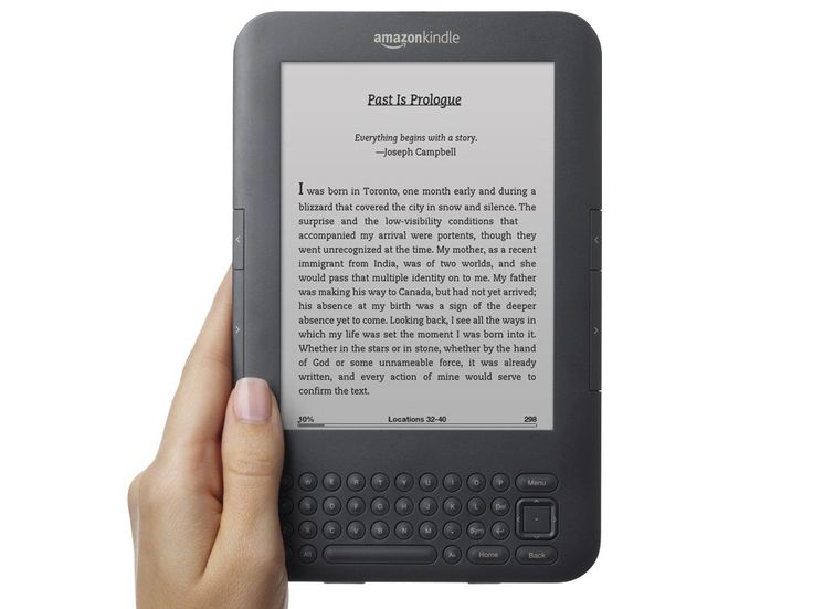 Kindle 3 Keyboard: Fast Forward through book by chapters  Pressing Alt and the right arrow fast-forwards through your book one chapter at a time.