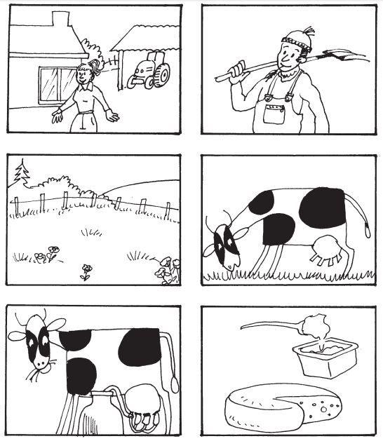 liedje 2 melk koe gt prenten de boerderij koe thema