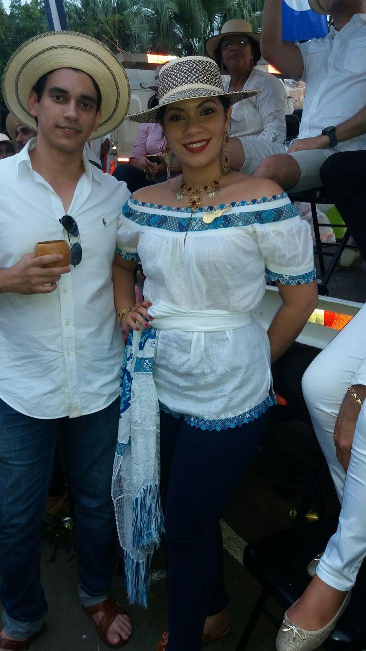 SRM Alexandra Vargas Benavides (2012) el día del desfile Festival de la Mejorana 2016, hermoso rebozo, siempre admirada.
