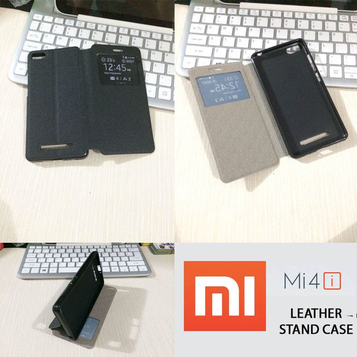 Stand Leather Case Xiaomi Mi4i - 135 rb - kitkes.com