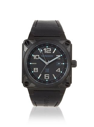 Torgoen Men's T26108 Classic Black/Blue Aviation Watch