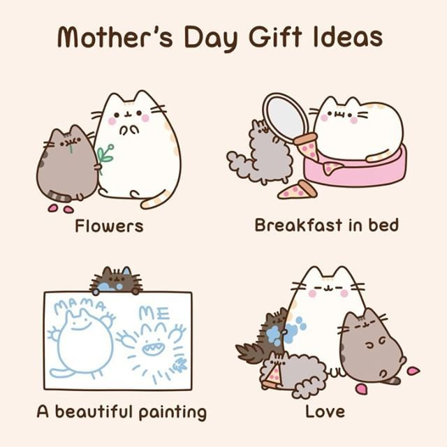 "Pusheen (@pusheen) on Instagram: "" Happy Mother's Day! """