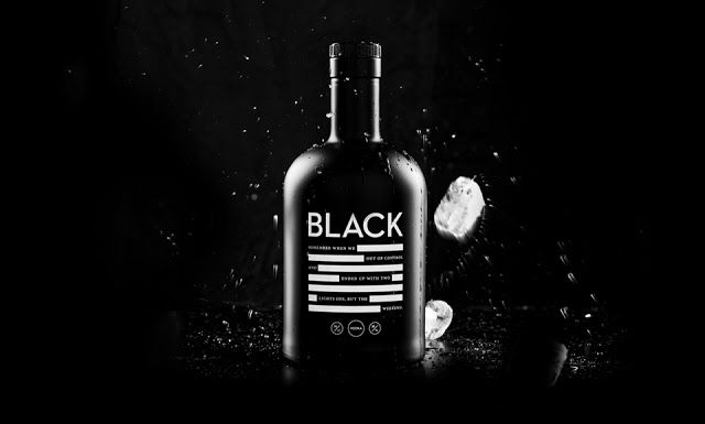 Black Vodka on Packaging of the World - Creative Package Design Gallery