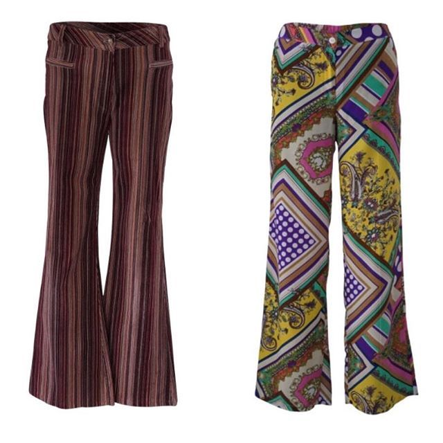 Vintage Style: Winter cords and vibrant flares all available now on-line. ❄️#onlinenow #shopnow #retroflares #vintagecasual
