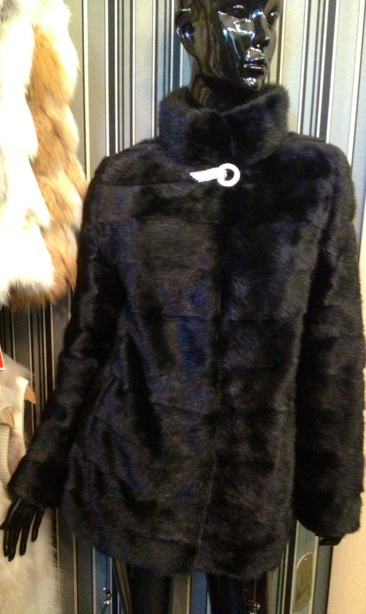 Шуба из канадской дикой норки Цена со скидкой 29 000 Размер 42,44 #мех#меховая жилетка#шуба#меховой жилет#чернобурка#норка