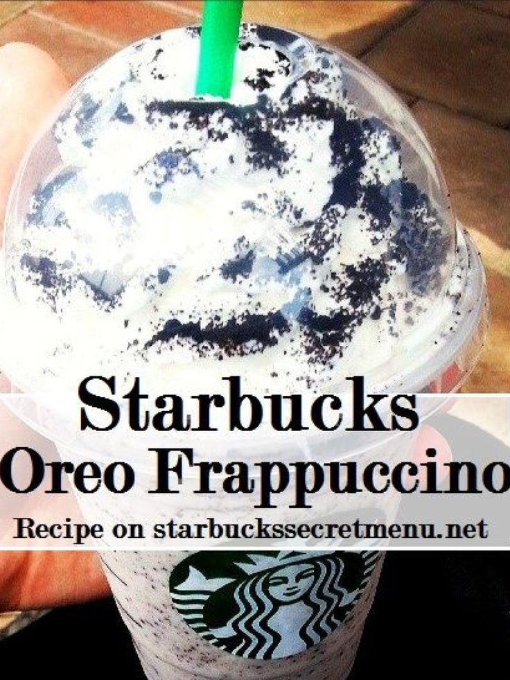 Q&A Yes The Answer Is Yes I Highly Recommend The Starbucks Oreo Frap! It's Amazing