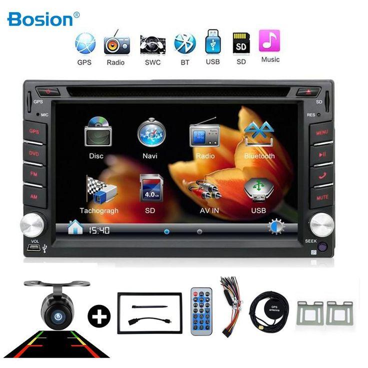 2din Baru universal Radio Mobil Ganda 2 din Mobil DVD Player GPS Navigasi Dalam dash Car PC Stereo video Gratis Peta Mobil elektronik