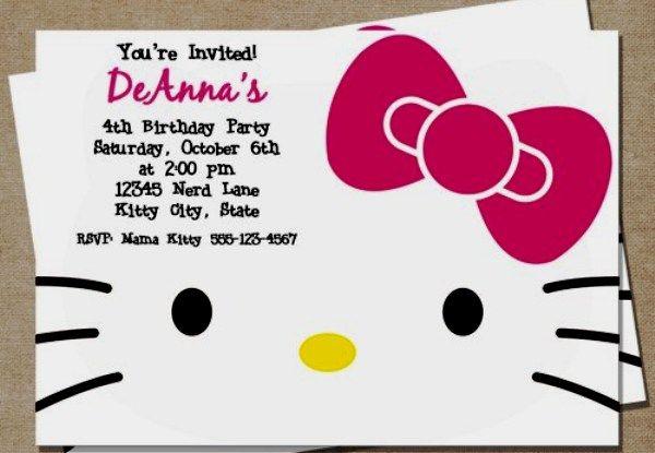 Quer ideias de convites, doces, bolos, enfeites e lembrancinhas para uma festa Hello Kitty inesquecível? Elas estão aqui!
