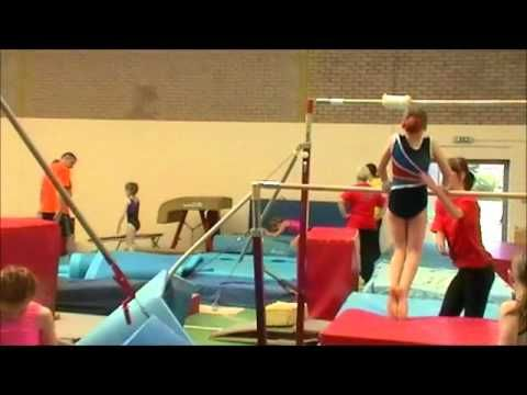 VERY GOOD WARM UP< PARTNER STUFF< ROUTINES>>>Gymnastics Summer Camp 2012. - YouTube