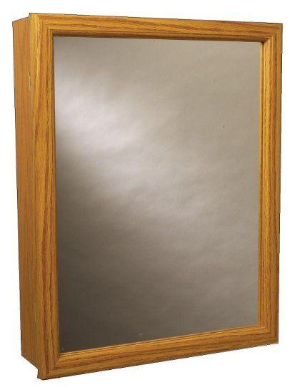 Zenith K16, Swing Door Medicine Cabinet, Oak