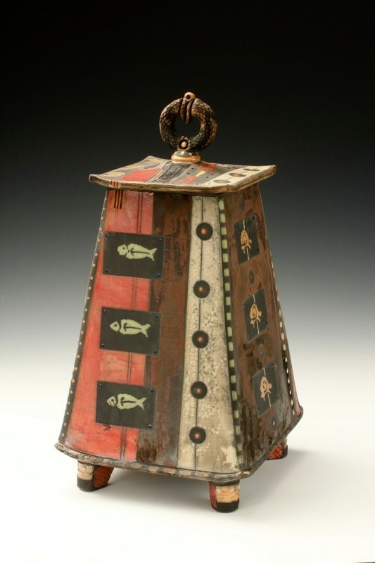 Daniel Oliver ceramics. Urn series. $1600