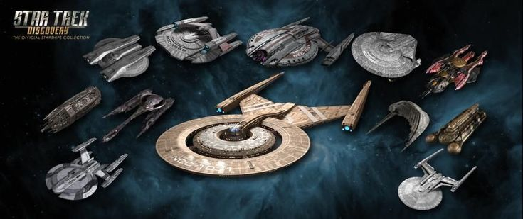 FIRST LOOK: Eaglemoss's Newest Ships