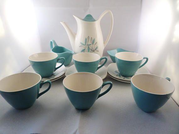 Midwinter coffee set Stylecraft Fashion shape Cassandra