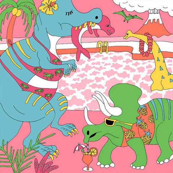 「dinosaur」2014 Wakana Yamazaki