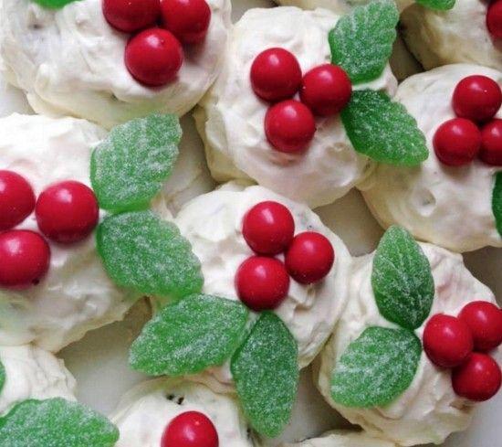 Mini Chocolate Ripple Christmas Puddiings