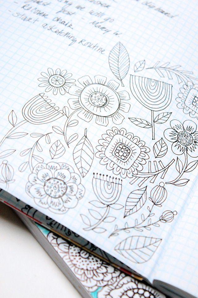alisaburke: simple homemade planner                                                                                                                                                                                 More