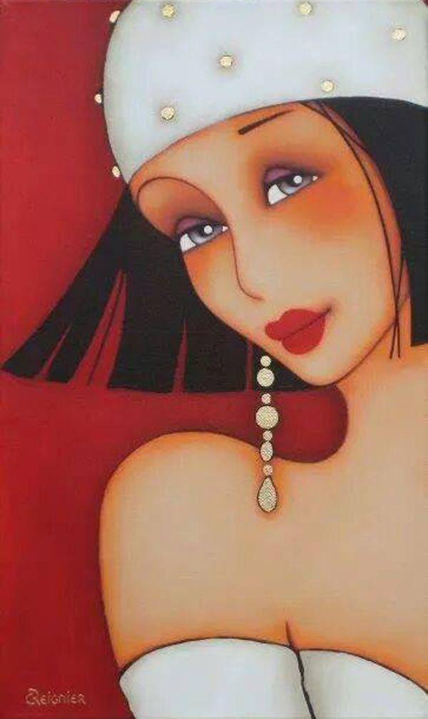 Corinne Reignier, paintings - ego-alterego.com