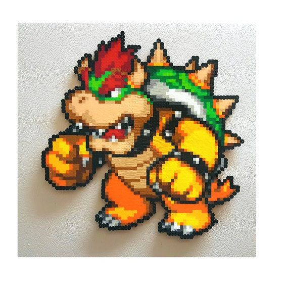 Grab the nearest koopa shell and put an end to that pesky plumber for good! Click the Add to Cart button now and crush the Mushroom Kingdom under your iron fist. Impress your friends and family with your very own Bowser.  Place the evil King Koopa on your locker, put him on the fridge, hang