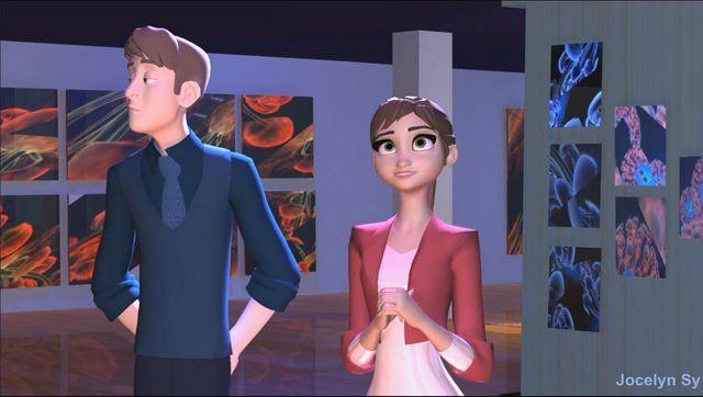 This is the second shot I've animated, during the Animsquad 2014 Winter Term - Expert Acting Class with Malcon Pierce, using the character rigs, Jack and Jill.   For educational purposes, the set used here, was downloaded free from  www.turbosquid.com, and had been modified. The Picture Gallery set is by AgileWolf3d ;  Audio track was taken from Kip Gilman's actor's reel.  For more of my animation work, please check out: http://joscat08.wix.com/jocelynsy; ...