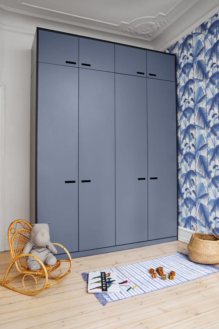 &SHUFL wardrobe solution. Based on Ikea standard PAX. This is from &SHUFL laminate collection - new colour!