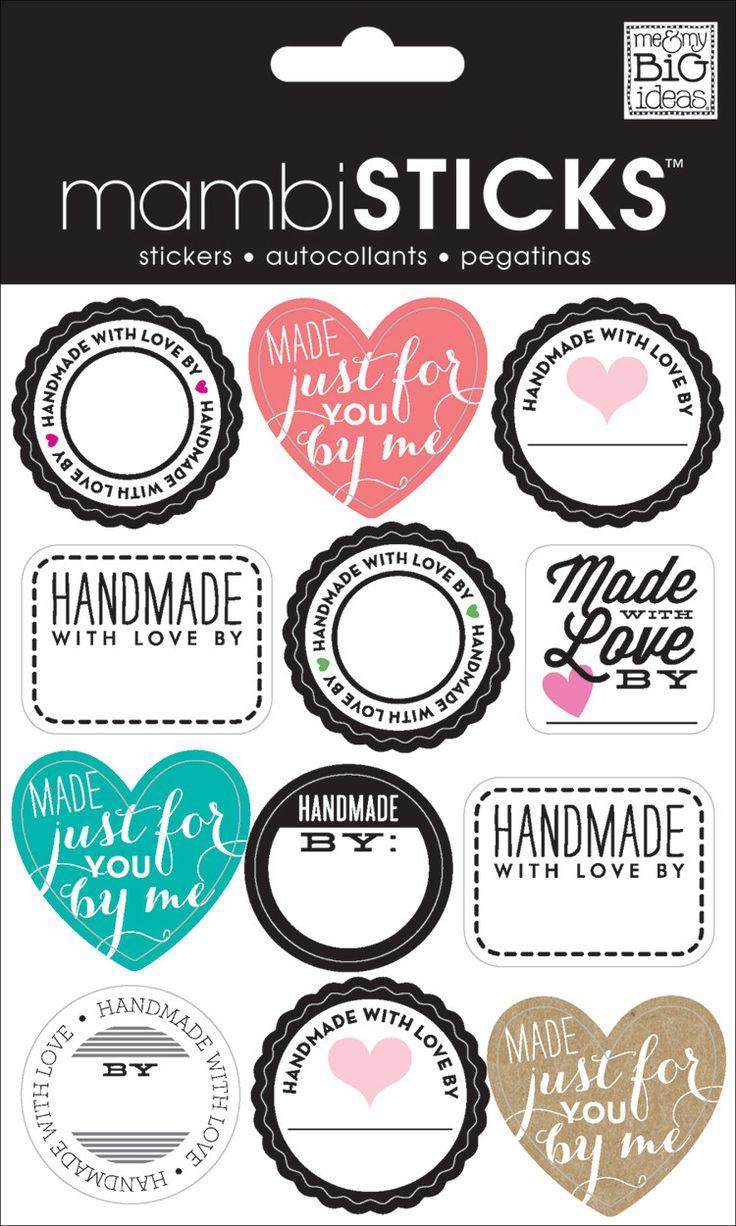 Handmade With Love – me & my BIG ideas