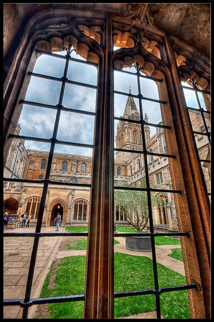 Universidad de Oxford, Inglaterra.