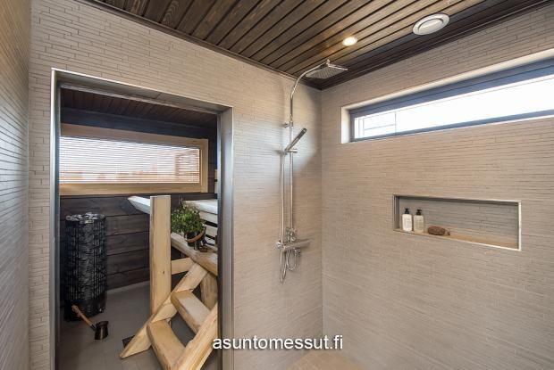 16 Villa Merengue - Pesuhuone @ Loma-asuntomessut Kalajoella