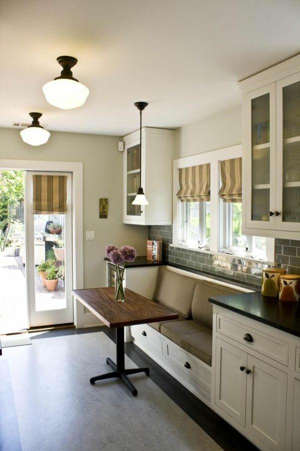 Küchenschränke Selber Bauen. wandregal in küche mit tassen am ...