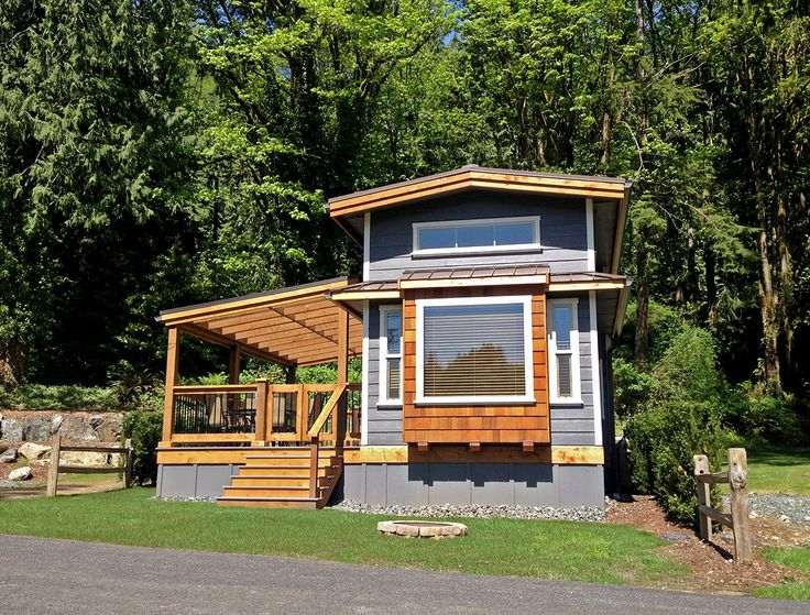 88 best park model trailers images on pinterest tiny for Lakefront modular home plans
