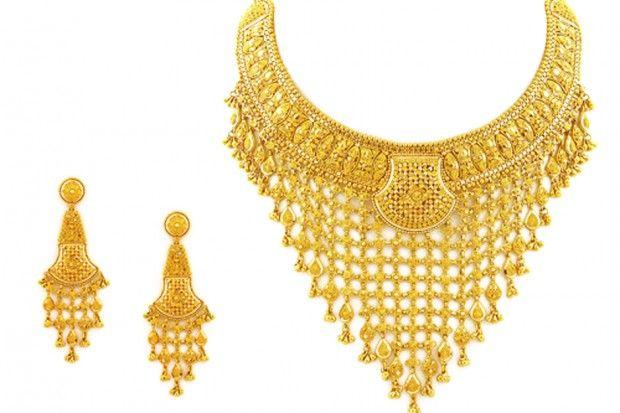 Amazing Gold Necklace Set For Wedding