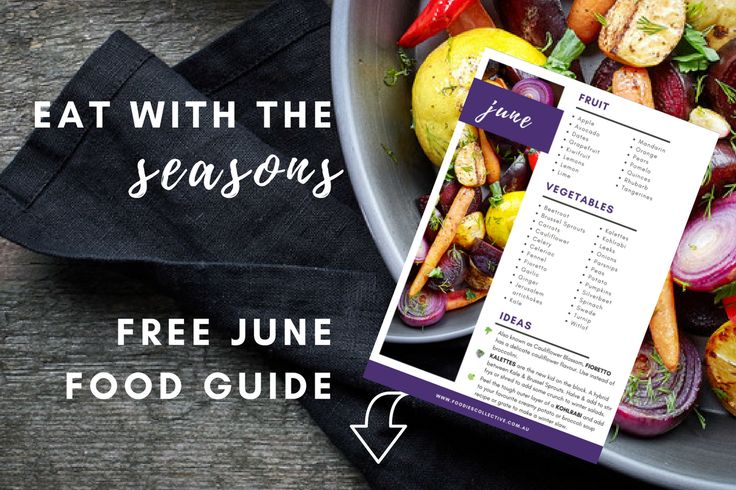 Eating with the seasons not only tastes better, it helps our local farmers & keeps you in touch with our dear friend 'mother nature'. Download our FREE Seasonal food guide now.