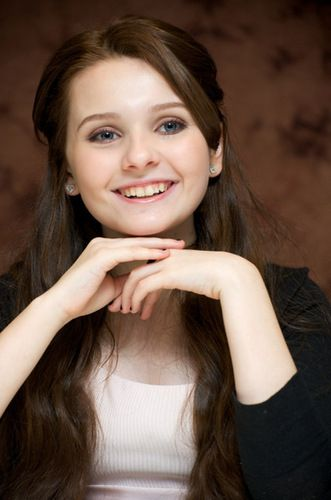 Abigail Breslin; a very talented young actor. I would like to see her take some serious roles one of these days.