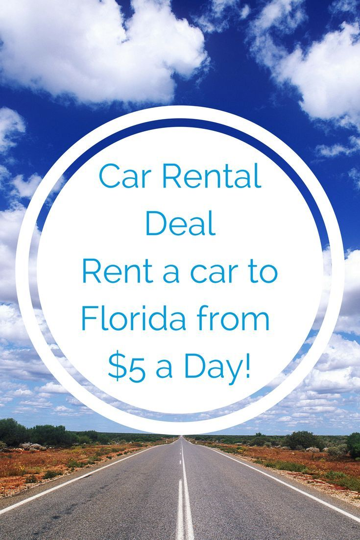 One Way Car Rental Deals 5 Day Home From Florida Car Rental