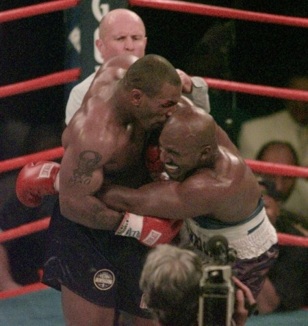 Mike Tyson Evander Holyfield Ear Bite  1997