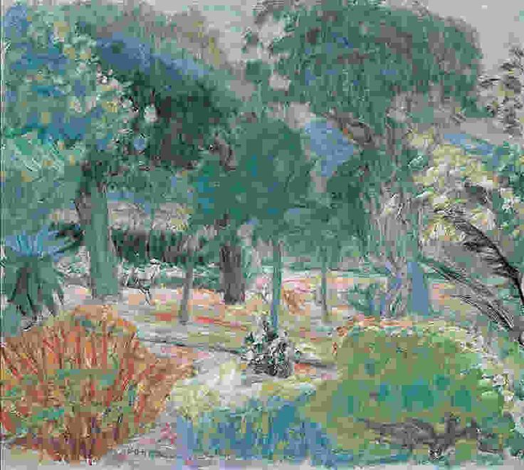 Garden in Southern France   - Pierre BonnardFrench 1867-1947Post-impressionism