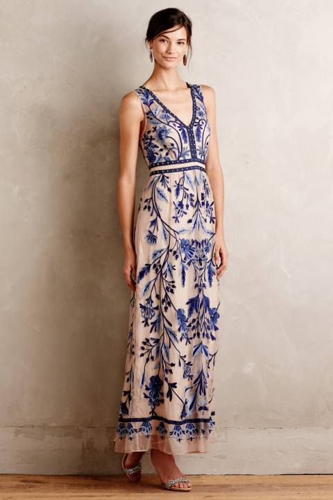 Willowpark Maxi Dress by Moulinette Soeurs #anthroregistry #anthropologie: