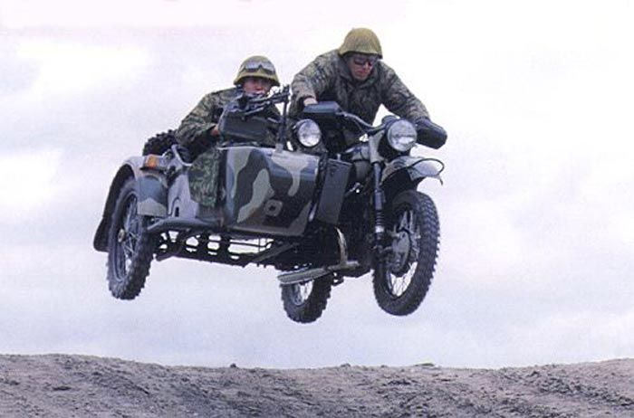 Flying with a Ural sidecar rig