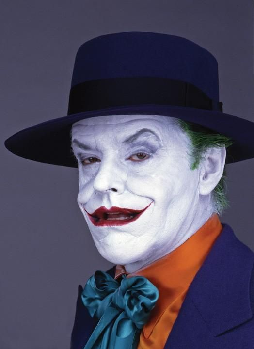 Michael keaton jack nicholson and jokers on pinterest