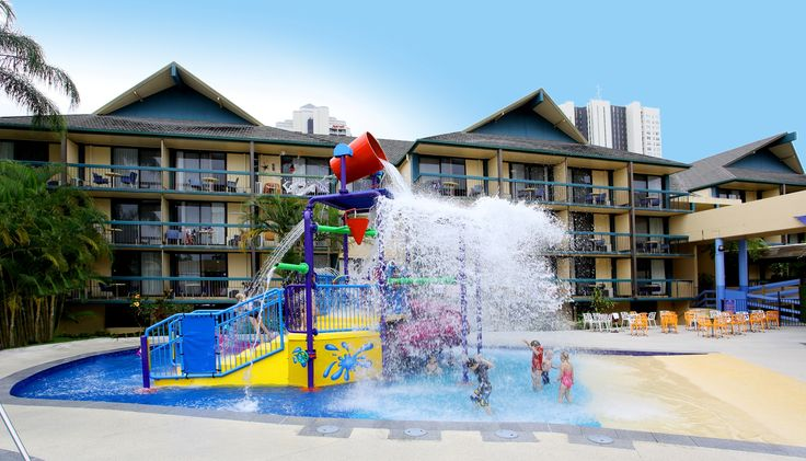 The little ones also get their own waterpark so the big kids don't knock them over by accident and has a shallower main pull and less scary water features so they're more comfortable.