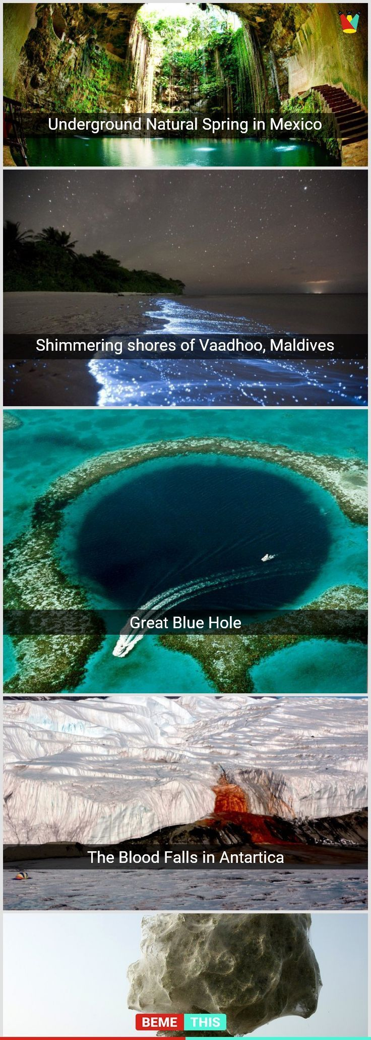 10+ Incredible Places You Won't Believe Actually Exist in Nature #naturep…   – Bucketlist