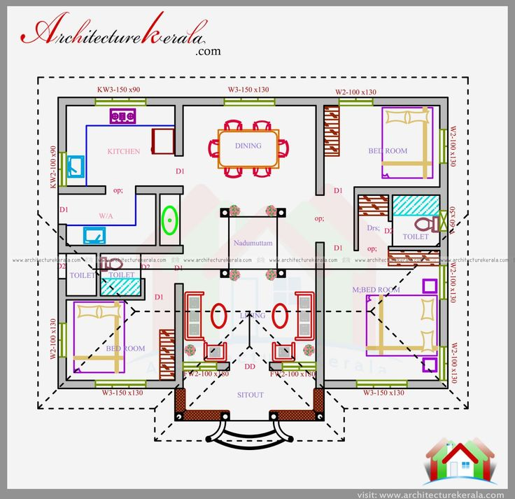 Image result for nalukettu house plan