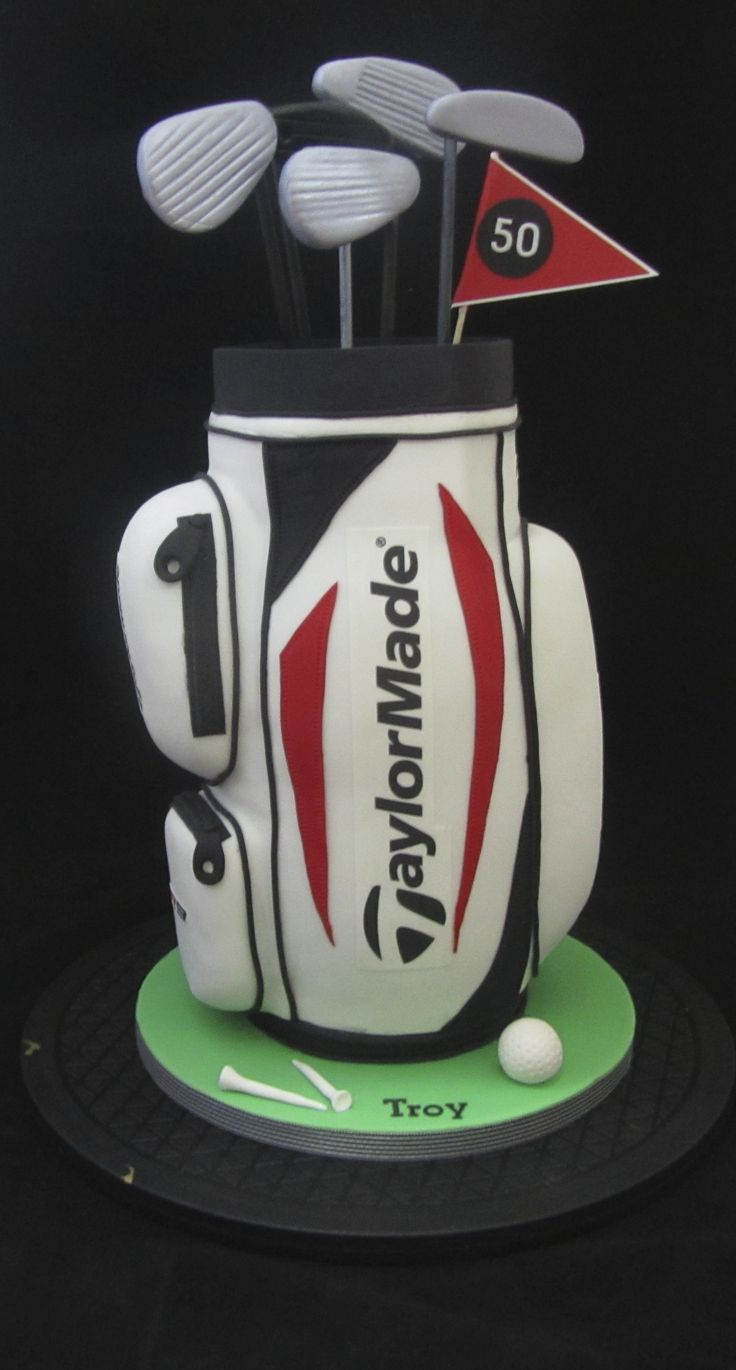 17 Best Images About Golf Bag Cakes On Pinterest How To