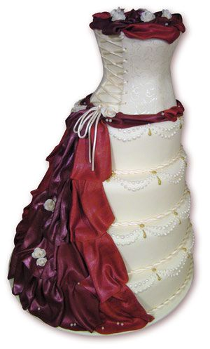 Corset cake, @Angela Marusa-this looks EXPENSIVE!