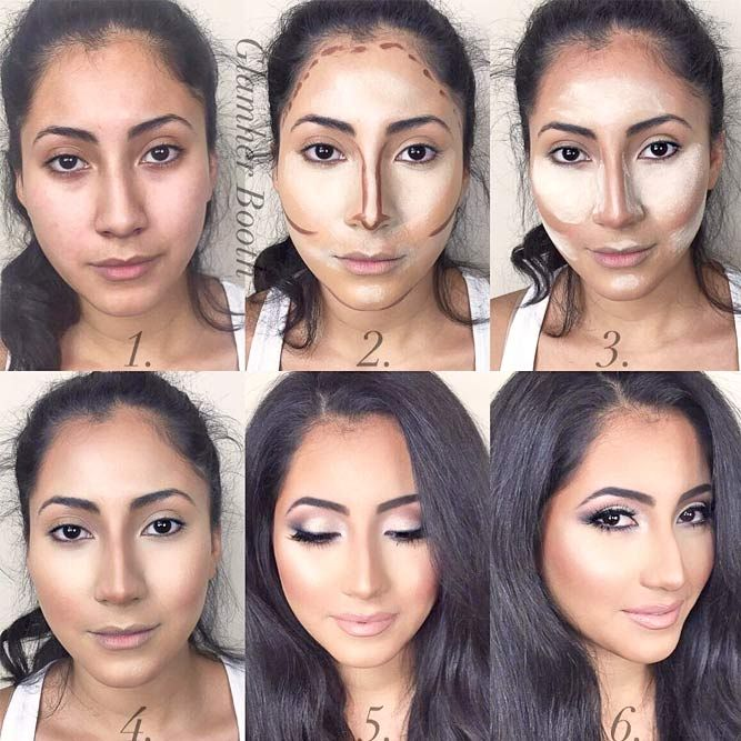 How To Apply Contour Makeup Depending On Your Skin Tone With