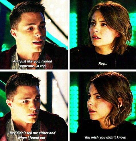 Arrow - Roy & Thea #3.15 #Season3 #NandaParbat