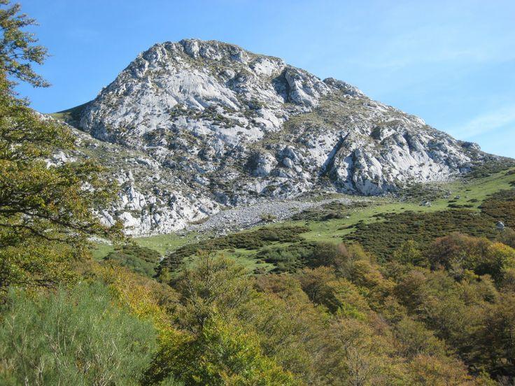 La Carasca, Orlé, in december, Asturias